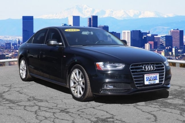 Used 2016 Audi A4 2.0T Premium (Tiptronic) Sedan in Thornton near Denver