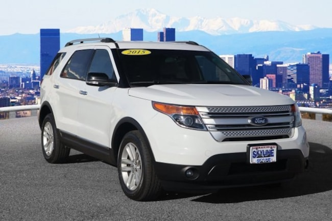 Certified Pre-Owned 2015 Ford Explorer XLT SUV Thornton, CO