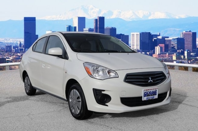 New 2019 Mitsubishi Mirage G4 ES Sedan in Thornton near Denver, CO