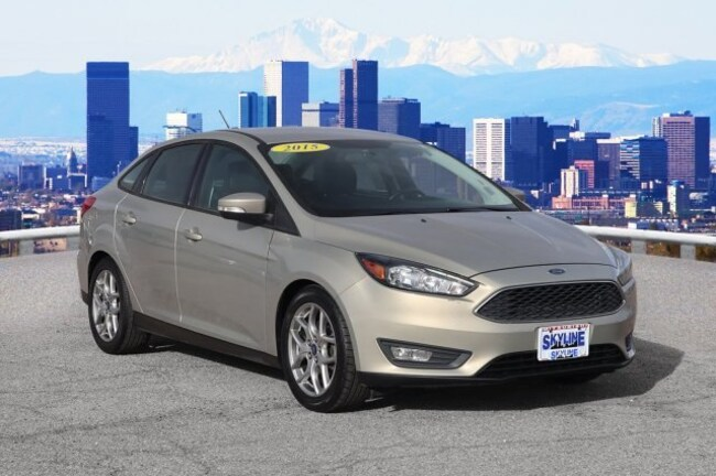 Certified Pre-Owned 2015 Ford Focus SE Sedan Thornton, CO