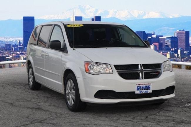 Certified Pre-Owned 2014 Dodge Grand Caravan SE Van Thornton, CO