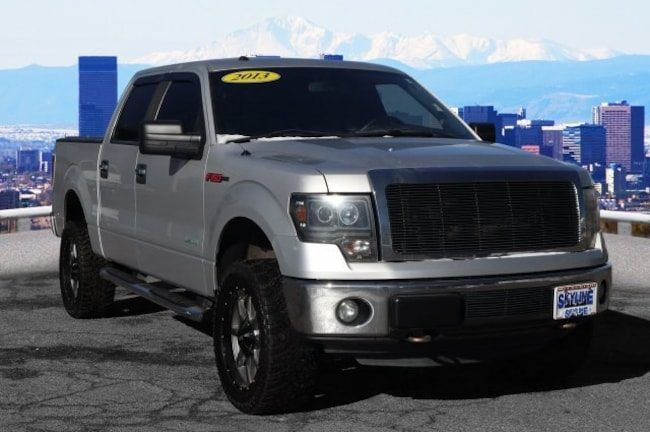Certified Pre-Owned 2013 Ford F-150 Truck SuperCrew Cab Thornton, CO
