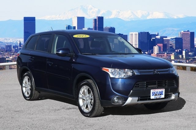 Certified Pre Owned 2015 Mitsubishi Outlander For Sale Inthornton