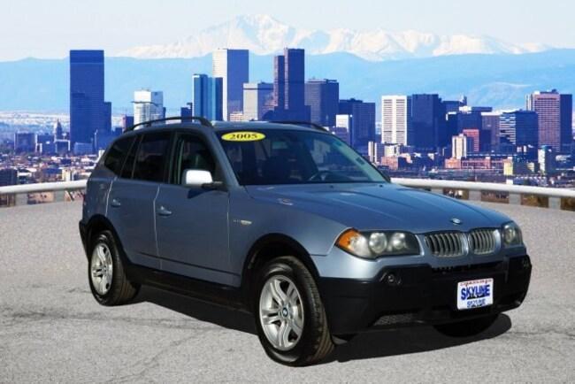 Used 2005 BMW X3 3.0i SUV in Thornton near Denver