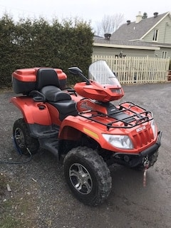 2015 ARCTIC CAT TRV 1000 Limited EPS