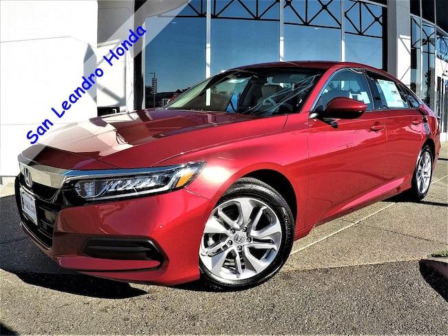 New 2018 Honda Accord LX 1.5T Sedan For Sale/Lease San Leandro, California