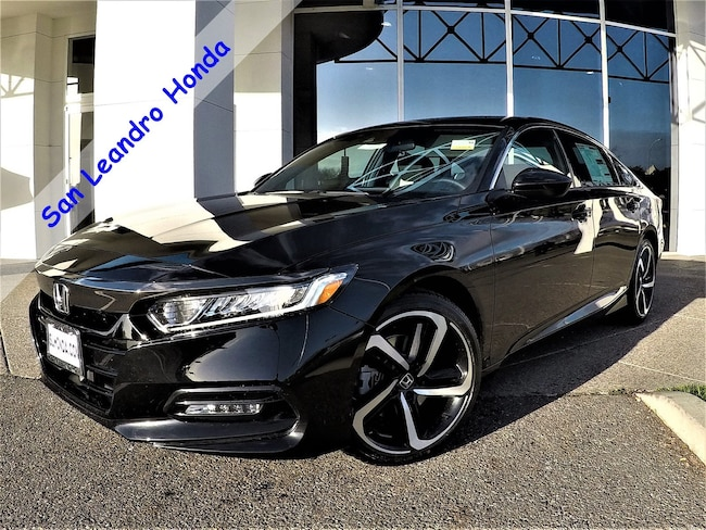 New 2018 Honda Accord Sport 2.0T Sedan For Sale/Lease San Leandro, California
