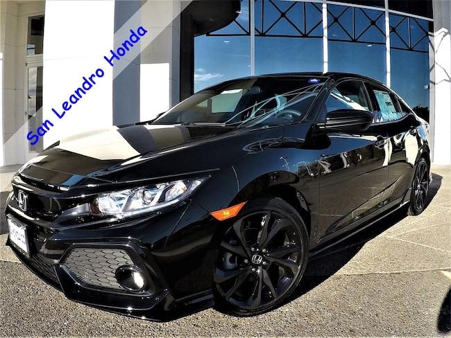 New 2018 Honda Civic Sport Hatchback For Sale/Lease San Leandro, California