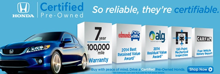 Why Buy A Honda Certified Vehicle?