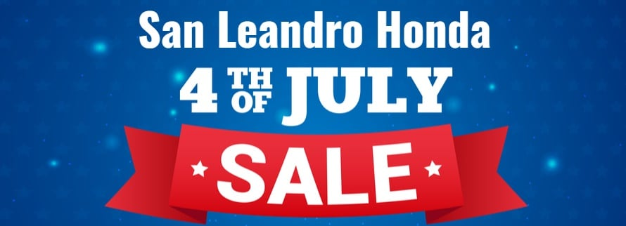 4th Of July Honda Sale Event In San Leandro Alameda