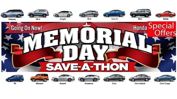 Memorial Day Car Deals: 2015 Honda Memorial Day Sales Event Deals Discounts Ca San