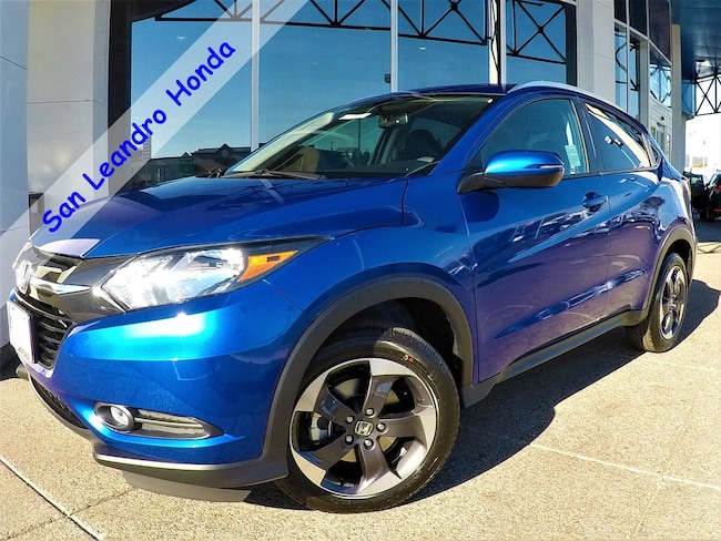 New 2018 Honda HR-V EX-L Navi 2WD SUV For Sale/Lease San Leandro, California