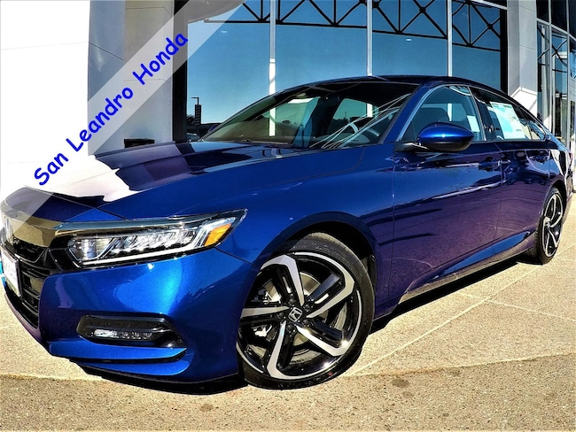 New 2018 Honda Accord Sport 1.5T Sedan For Sale/Lease San Leandro, California