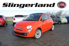 2017 FIAT 500 c LOUNGE Convertible For Sale in Corunna MI