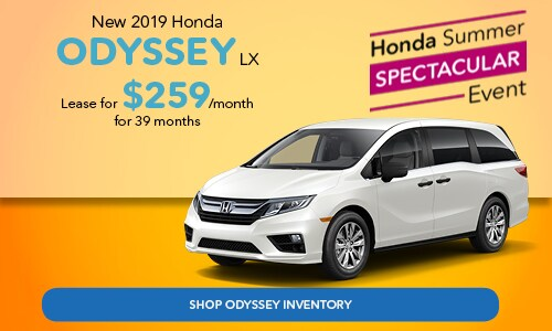 Honda Odyssey Lease For $259/mo Sloane Honda Lease