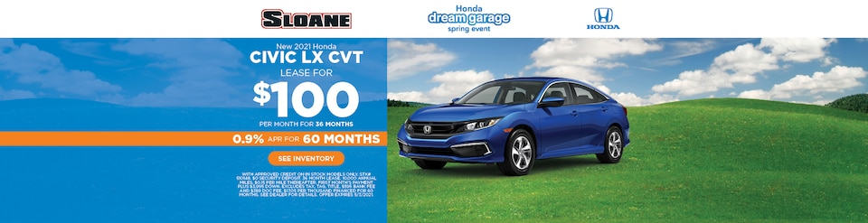 New 2021 Honda Civic LX CVT