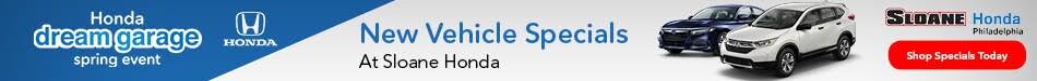 New Vehicle Specials At Sloane Honda