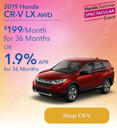 New 2019 Honda CR-V LX CVT AWD