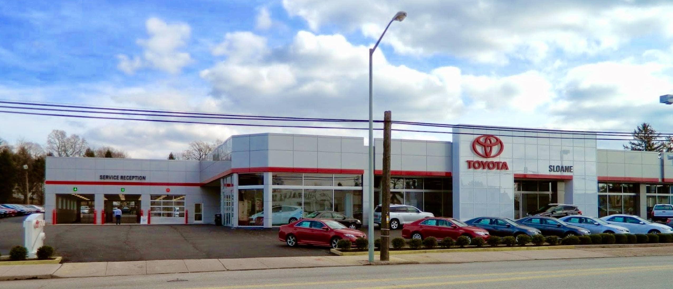 Sloane Toyota Of Philadelphia >> Toyota Dealer In Glenside Near Horsham Willow Grove Pa