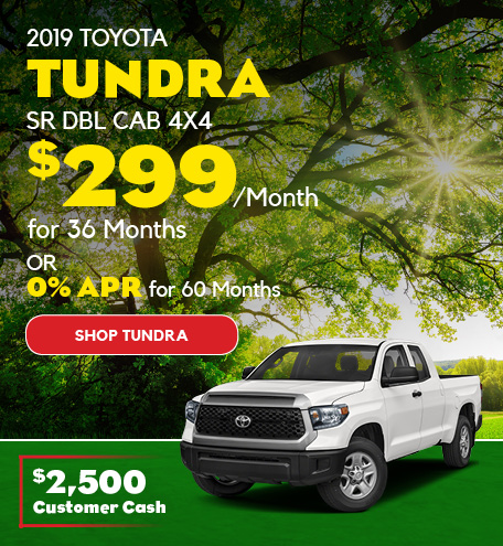 May 2019 Toyota Tundra Lease