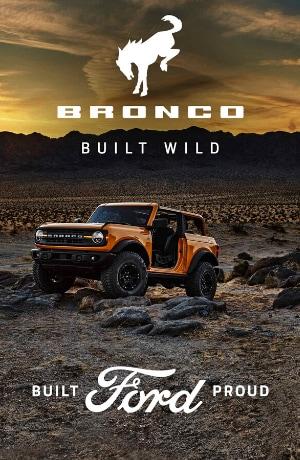 Revealed 2021 Ford Bronco