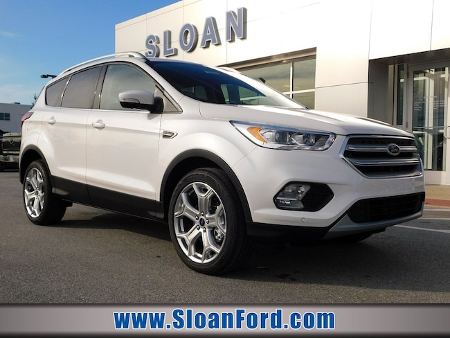 New 2019 Ford Escape Titanium SUV for sale in Exton, PA at Sloan Ford