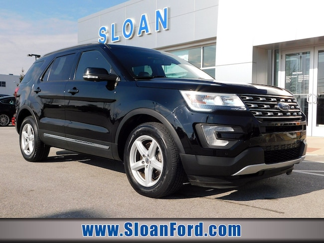 Certified Pre-Owned 2016 Ford Explorer XLT SUV for sale in Exton, PA at Sloan Ford