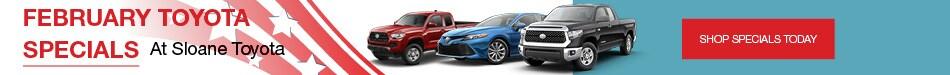 February Toyota Specials