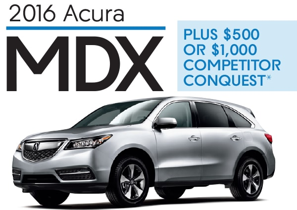 Acura MDX Competitor Conquest Offer Now Through Jan - Acura mdx competitors