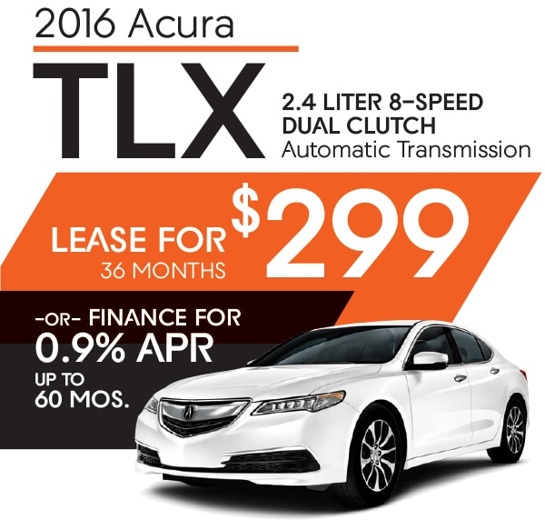 Get A New 2016 Acura TLX. Lease Offers And Lease Loyalty
