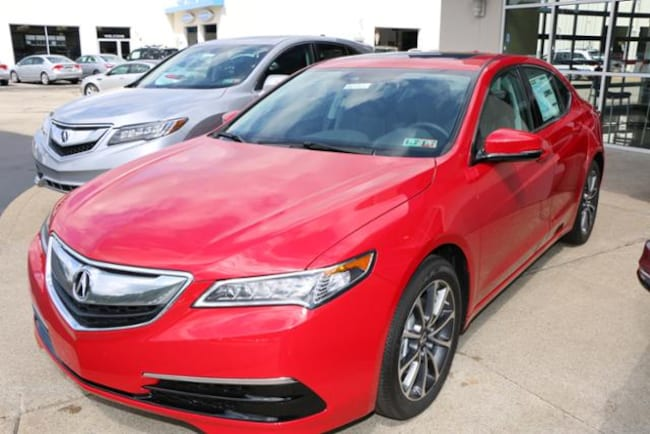 2017 Acura TLX 3.5 V-6 9-AT P-AWS with Technology Package Sedan V-6