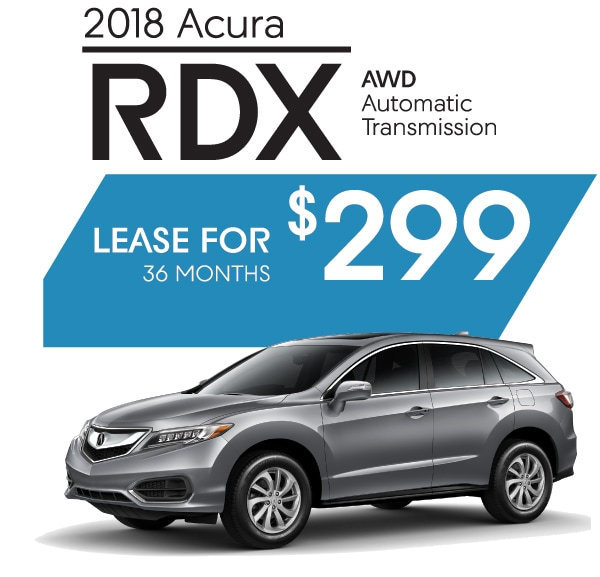 New Acura RDX Lease Offer Or Finance Offers Available At