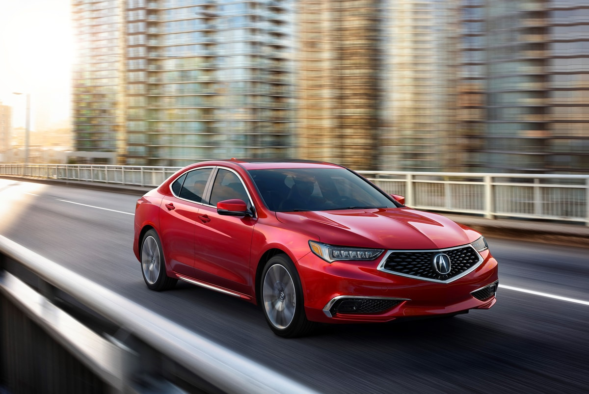 2020 Acura Tlx Arrives At Dealers With Four New Premium Colors