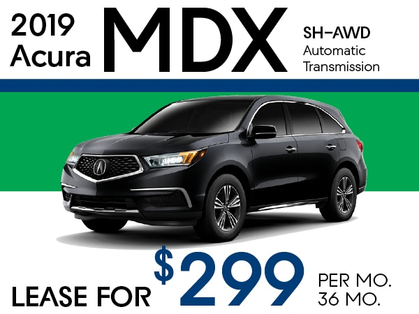 Acura Mdx Lease >> Lease A 2019 Acura Mdx For 319 Per Month