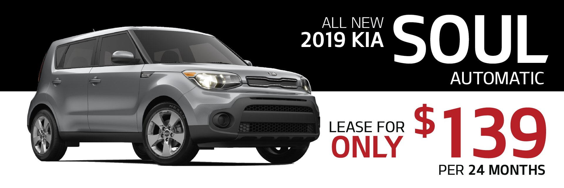24 Month Lease >> Lease A 2019 Kia Soul For Only 139 Month