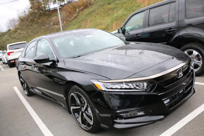 New 2018 honda accord sport sedan in crystal black pearl for 2018 honda accord manual transmission