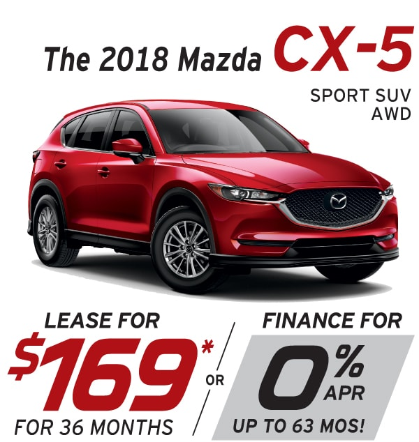 New Mazda CX Lease Or Finance Offers At Smail Mazda In - Mazda lease offer