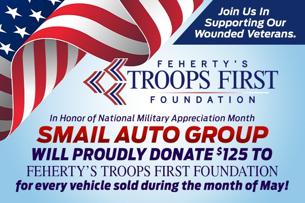 Smail Auto Group to Donate to Feherty's Troops First Foundation