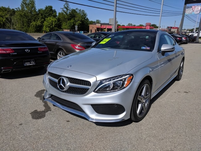 2017 Mercedes-Benz C-Class C 300 4matic Coupe Car