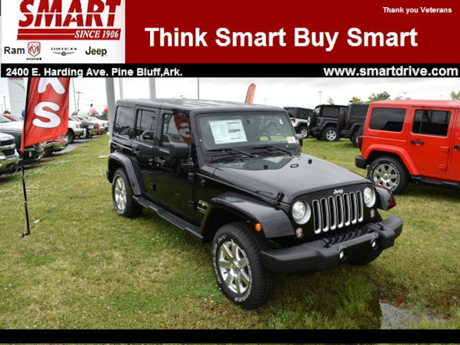 new 2018 jeep wrangler unlimited wrangler jk unlimited sahara 4x4 for sale pine bluff ar. Black Bedroom Furniture Sets. Home Design Ideas