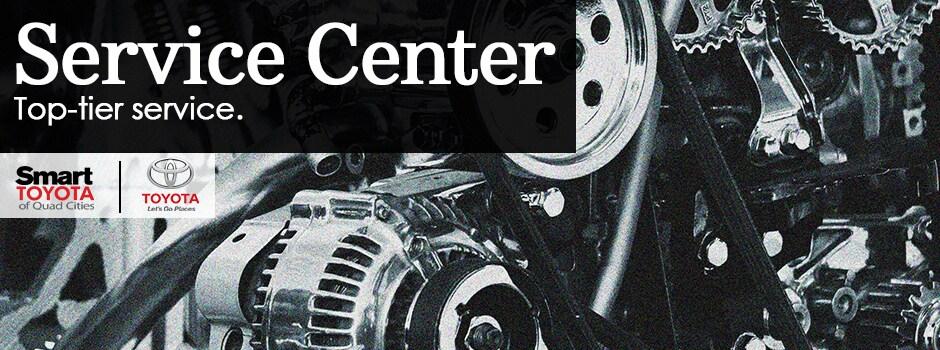 Toyota Certified Service Center | Smart Toyota Of Quad Cities, Davenport IA