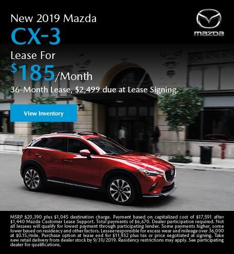 September | Mazda CX-3