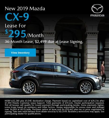 September | Mazda CX-9