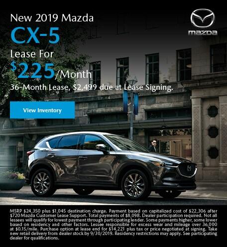 September | Mazda CX-5