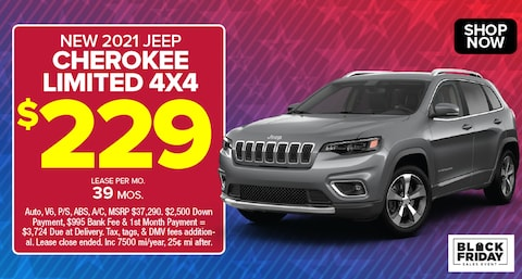 Jeep Cherokee Limited Deal - November 2020
