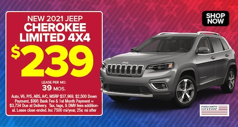 Jeep Cherokee Limited Deal - Feb 2021