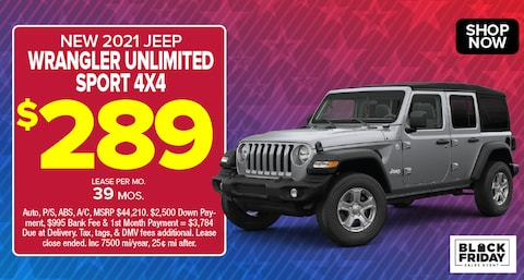 Jeep Wrangler Deal - November 2020