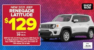 Jeep Renegade Deal - April 2021