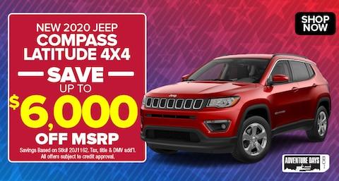 Jeep Compass Deal - September 2020