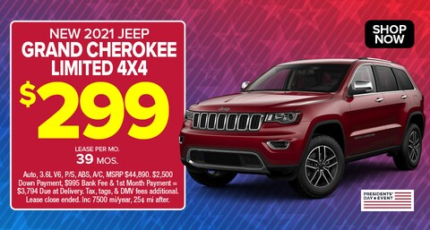 Jeep Grand Cherokee Limited Deal - Feb 2021